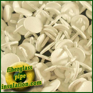 King Tacks for PVC Fitting Covers