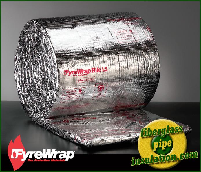 Unifrax Elite 1 5 FyreWrap Duct Wrap