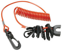 Universal Boat Kill Switch Lanyard fits Johnson, Evinrude, Honda, Yamaha, Suzuki, Mercury Nissan, and Tohatsu motors