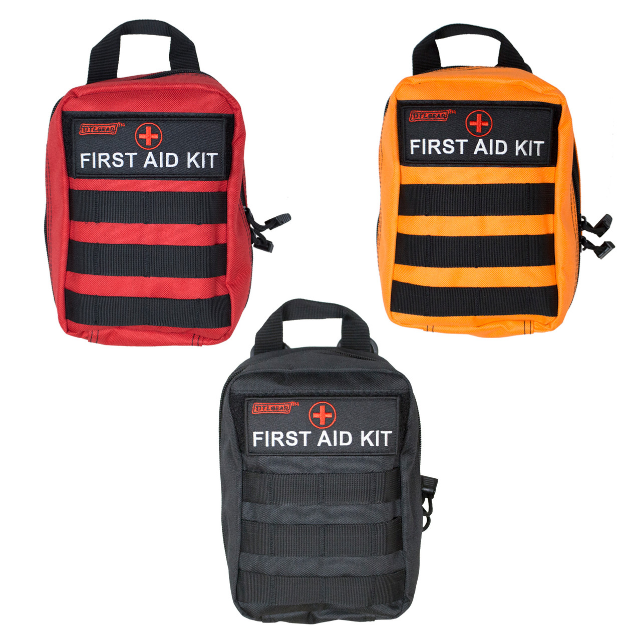 DTLgear High Quality Outdoorsman first aid kit colors