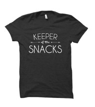 Keeper of The Snacks Adult T-Shirt