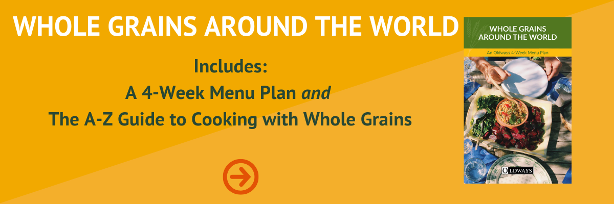 Whole Grains Cookbook from the Whole Grains Council