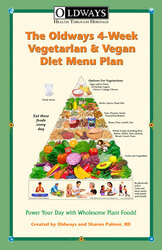 Oldways 4-Week Vegetarian and Vegan Diet Menu Plan Recipe Book Cover