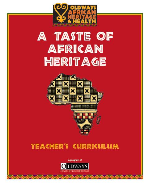 A Taste of African Heritage Teacher's Curriculum Cover