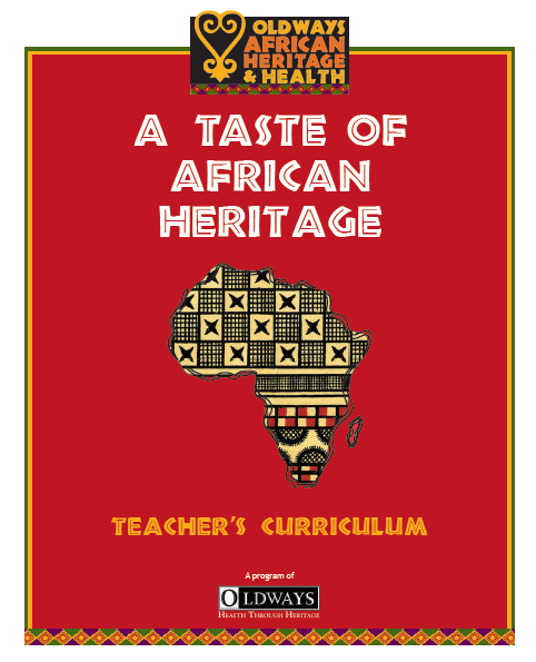 A Taste of African Heritage Teacher's Curriculum Cover