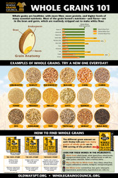 Whole Grains 101 Poster