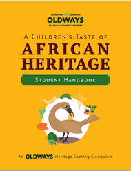 Cover of A Children's Taste of African Heritage Student Handbook