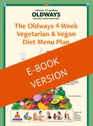 Oldways 4-Week Vegetarian & Vegan Diet Menu Plan E-Book
