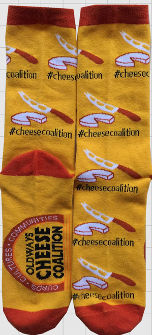Oldways Cheese Coalition socks