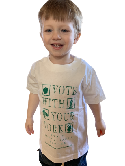 Tshirt for children - Vote with Your Fork