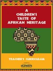 A Children's Taste of African Heritage Student Handbook - Cover
