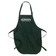 Hunter green apron