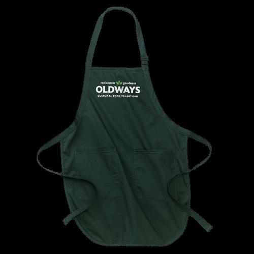 Hunter green apron