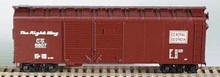 HO Bowser 40 Foot Box Car (Double Door) KIT Central of Georgia 3-1207  OL 1