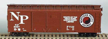 Bowser HO 40 Foot Box Cars (Double Door) KIT  Northern Pacific 3-1203 OL 1