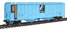 HO Walthers Mainline 50' 2-Bay Airslide Covered Hopper Italgrani GACX  910-7213 OL 1
