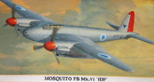 Hasegawa 1/72 MOSQUITO FB MK.VI 'IDF' kit 00739 Hasegawa  OL1