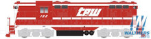 N Atlas Master Line EMD GP7 Phase 1 With DCC Toledo, Peoria & Western 40002193 OL 1