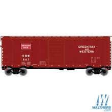 N Atlas PS-1 40' Boxcar Green Bay & Western 50002350 OL 1