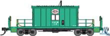 N Bluford Shops Steel Transfer Caboose Indiana Harbor Belt 24230 OL 1