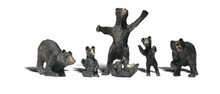 O Scale Woodland scenics Black Bears 2737  OL 1