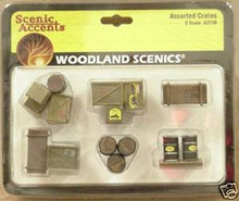 O-Scale Woodland Scenics Assorted Crates  OL 1