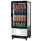 Bromic CT0080G4WC Countertop Beverage Chiller Curved Glass (Black)