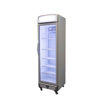 Bromic Glass Door Display Chiller with Lightbox - 372 Litre