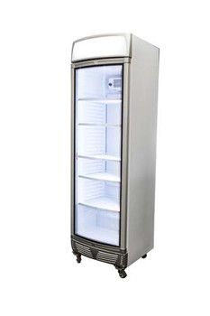 Bromic GM0400LC LED Curved Glass Door Display Chiller w/Lightbox