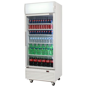 Bromic GM0660L LED ECO Glass Door Chiller w/Lightbox - 660 Litre