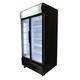 Bromic GM1000L LED BlackGlass Door Chiller w/Lightbox - 1000 Litre