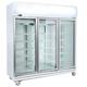 Bromic GD1500LF Upright 3 Glass Door Chiller w/Lightbox - 1507 Litre