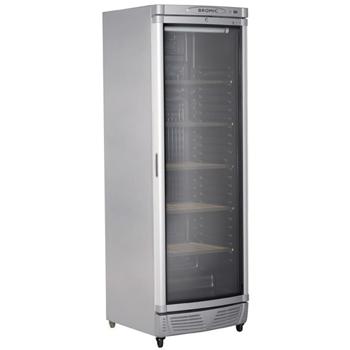 Bromic WC0400C-LED Curved Glass Door Wine Chiller & Preserver - 345 Litre