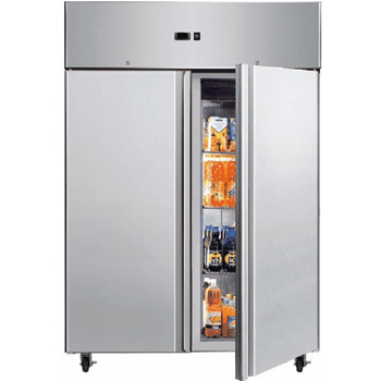 Bromic UF1300SDF Two Door Gastronorm Storage Freezer - 1300 Litre