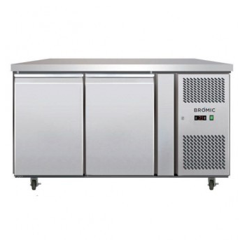 Bromic UBC1360SD Two Solid Door Under Bench Chiller - 282 Litre
