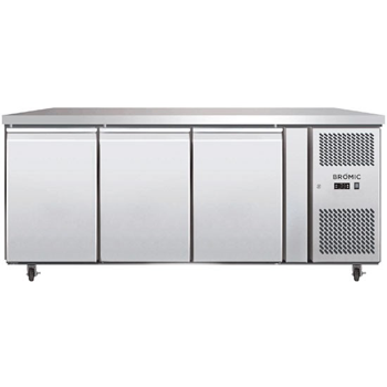 Bromic UBC1795SD Three Solid Door Under Bench Chiller - 417 Litre