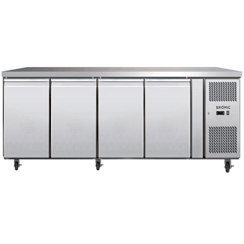 Bromic UBC2230SD Four Solid Door Under Bench Chiller - 553 Litre