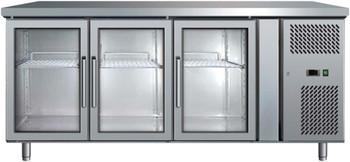 Bromic UBC1795GD Three Glass Door Under Bench Chiller - 417 Litre