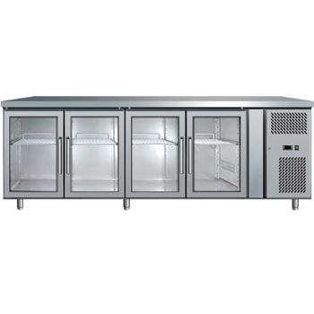 Bromic UBC2230GD Four Glass Door Under Bench Chiller - 553 Litre