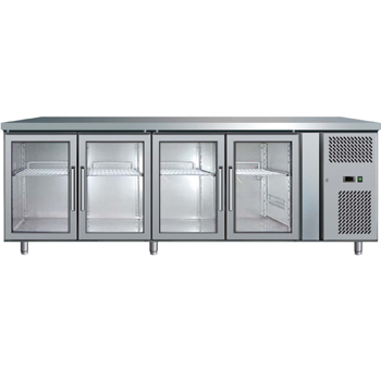 Bromic UBC2230GD Four Glass Door Under Bench Chiller - 553 Litre