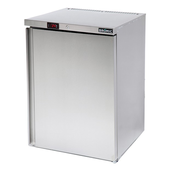 Bromic UBF0140SD S/Steel Under Bench Freezer - 105 Litre