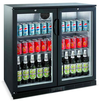 Bromic BB0208GD Back Bar Chiller - 208 Litre