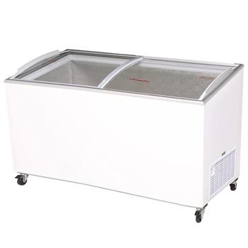 Bromic CF0600ATCG Angle Top Curved Glass Chest Freezer - 555 Litre