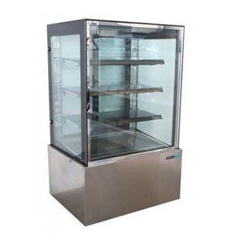 ANVIL-AIRE DHV0830 4 Tier Hot Food Display 900mm  Image as above but wire grid shelving