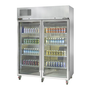 WILLIAMS HDS2GDSS 2 Door Diamond Star Fridge