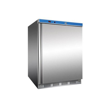 Single Door Stainless Steel Fridge 129L