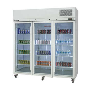 WILLIAMS HPS3GDSS 3 Door Pearl Star Fridge