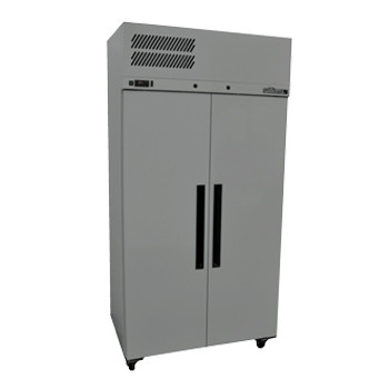 Williams Ruby Star HRS2SDSS 2 Solid Door Upright Fridge – Stainless Steel