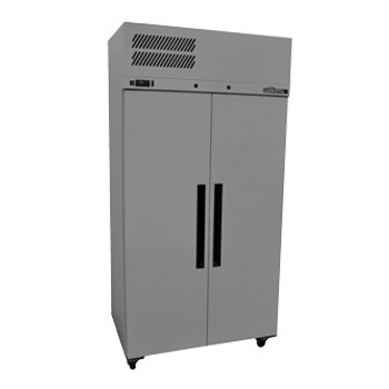 Williams Ruby Star LRS2SDSS 2 Solid Door Upright Freezer- Stainless Steel