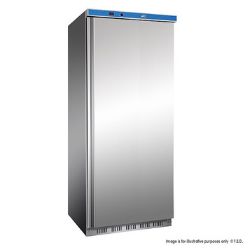 Single Door Stainless Steel Fridge 620L (HR600 S/S)